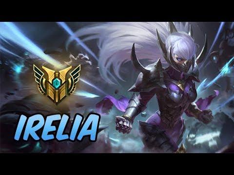 HOW TO PLAY IRELIA   Build & Runes   Diamond Nightblade Irelia   League Of Legends