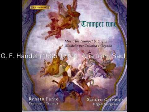 G. F. Handel 1685 1759, Aria from Saul