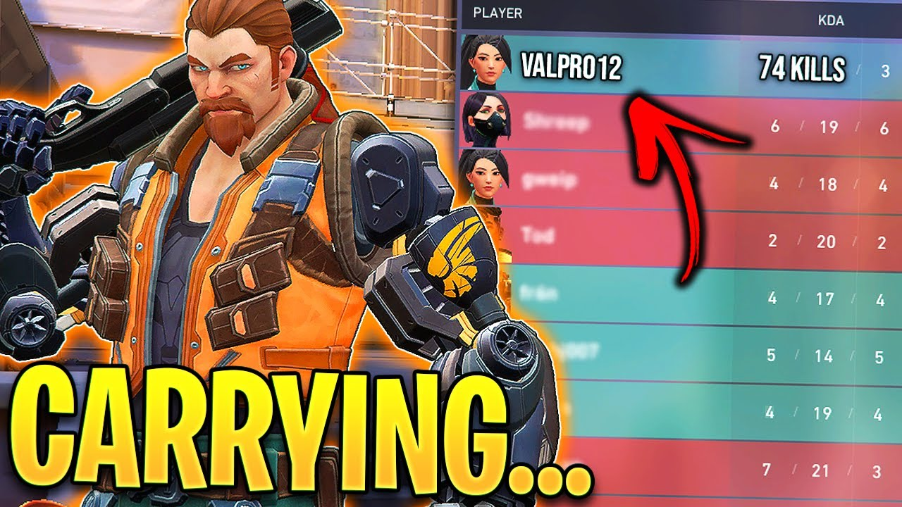 Valorant: When Pro Players SOLO CARRY! - 500IQ Moments & Insane Plays - Valorant Highlights Montage