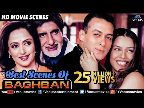 Best Scenes Of Baghban | Hindi Movies | Amitabh Bachchan Movies | Best Bollywood Movie Scenes