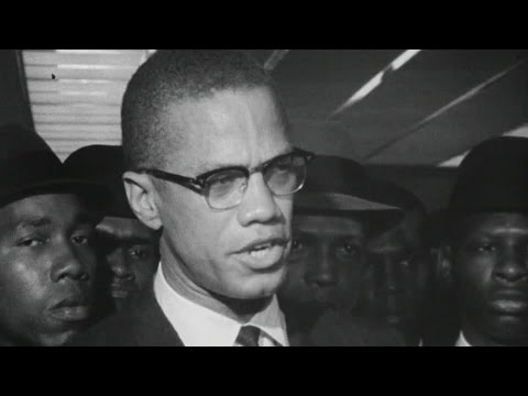 Malcolm X first interview for British TV (1963)