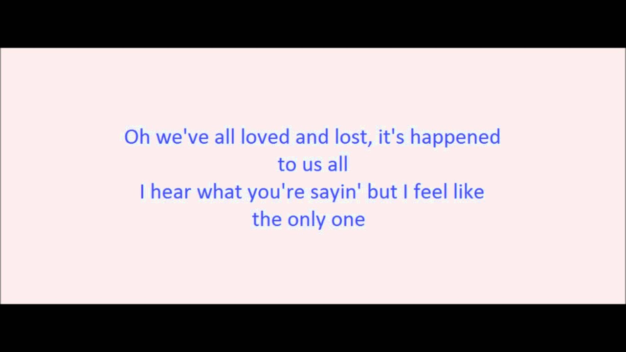 Words of song someone like you