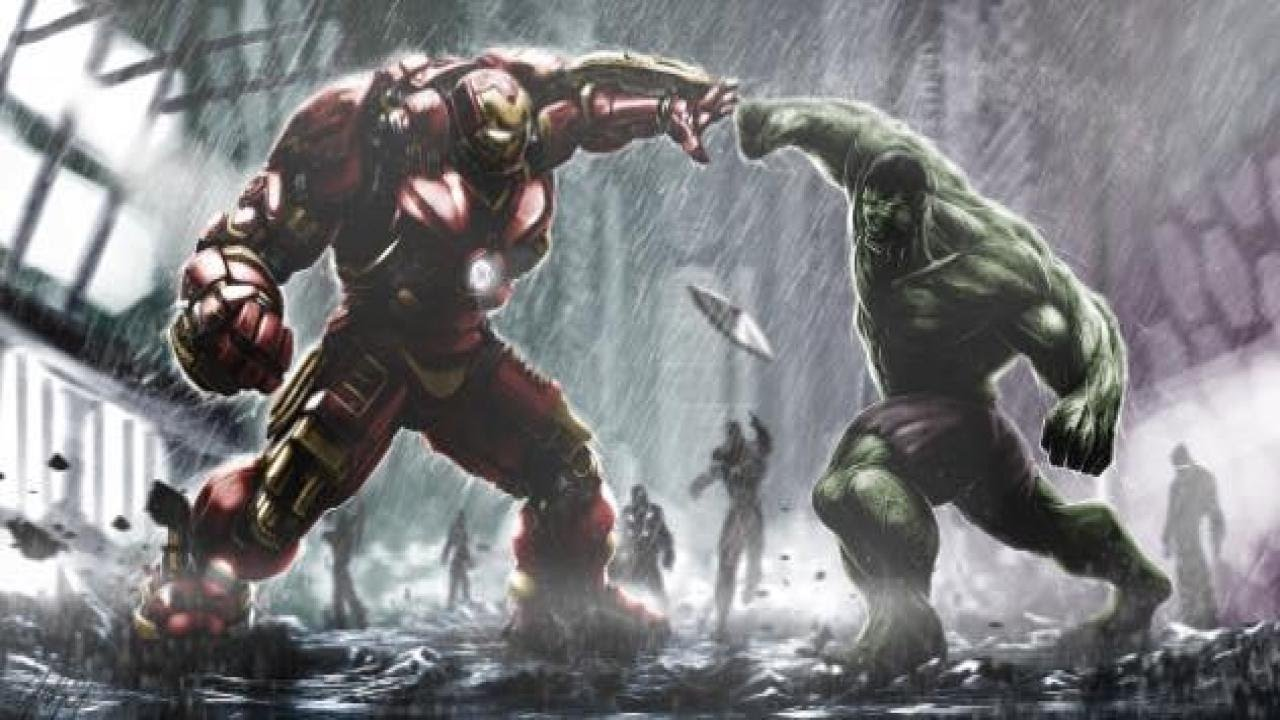 Philadelphia Eagles Wallpaper Hd Hulk Vs Hulkbuster Eye Of The Tiger Youtube
