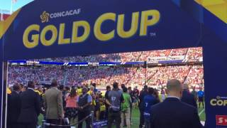 National Anthem at the 2017 Gold Cup