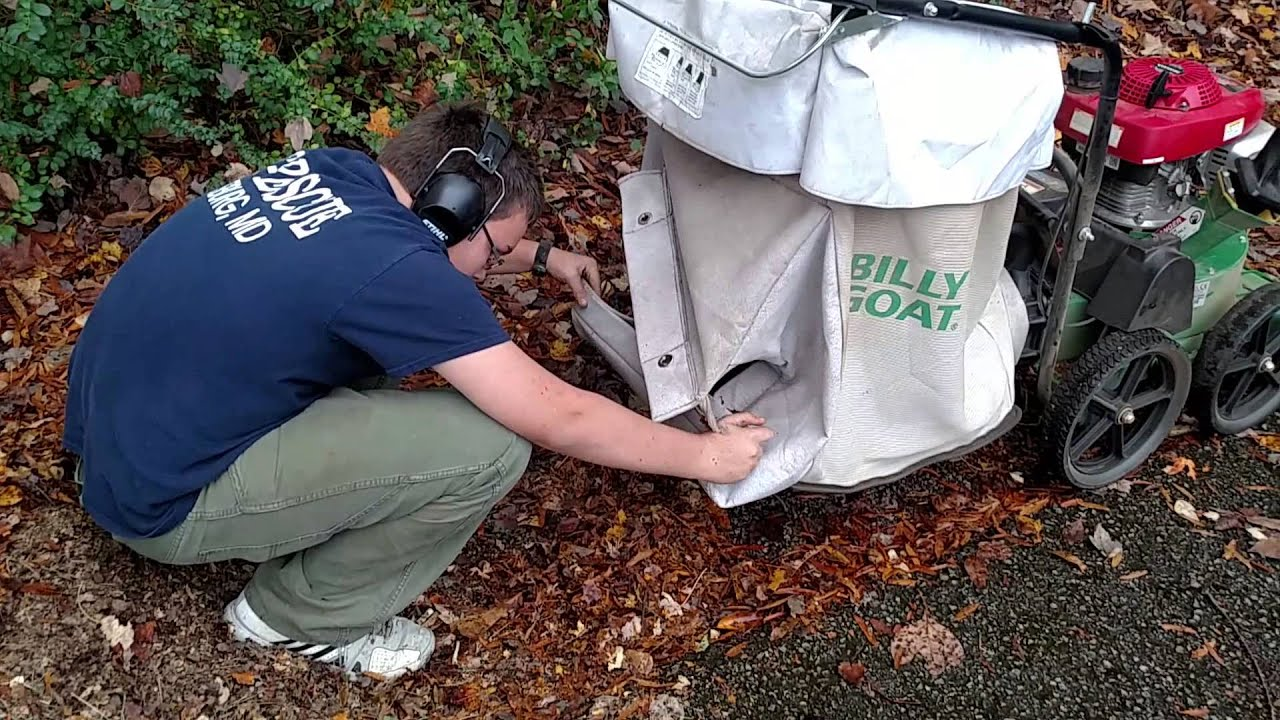 Billy Goat Tkv650sph Lawn Vacuum Youtube