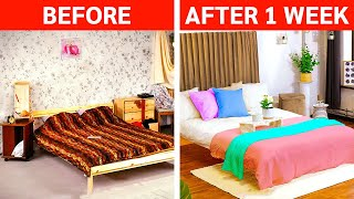 Easy Ways to Turn Your Room Into Really Comfort Zone || Bedroom Transformations by 5-Minute DECOR!