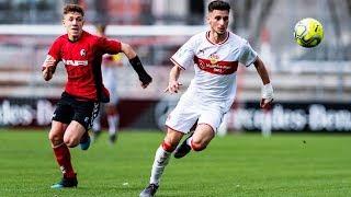 VfB Stuttgart - SC Freiburg 4:0 | A-Junioren DFB-Pokal 2018/19 | Halbfinale