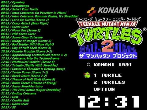 Nes: Teenage Mutant Ninja Turtles III Soundtrack