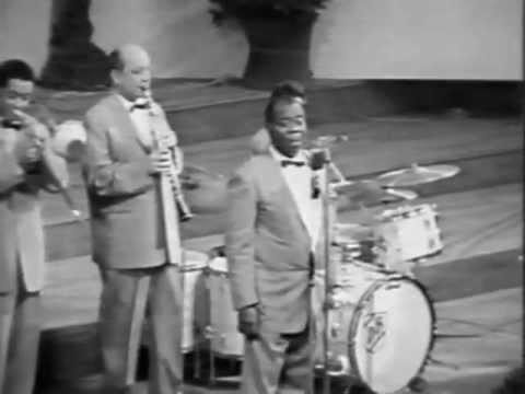Louis Armstrong + Barney Bigard; late 1960 - C´est Si Bon