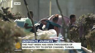 Migrants in France say they will continue channel crossing attempts into UK