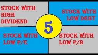 Top 5 Undervalued Dividend Stock || LOW PE || HIGH DIVIDEND YIELD