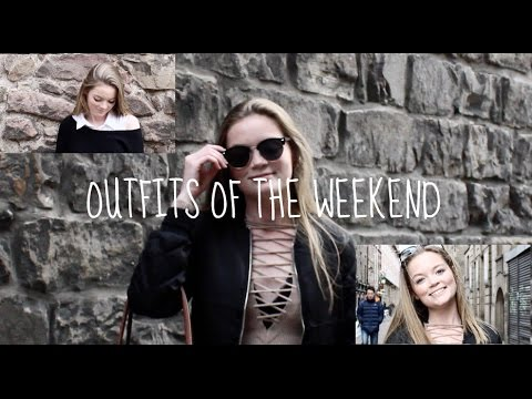 Outfits of the Weekend || Edinburgh