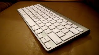 Gambar cover Apple Wireless Keyboard Review + unboxing + Setup