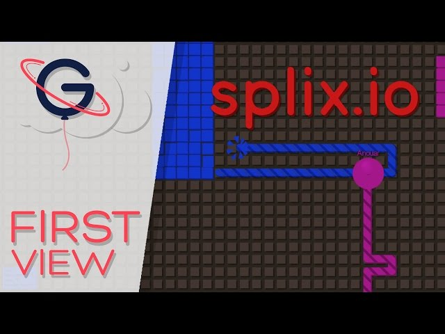Splix.io - UN NOUVEAU JEU .IO POSAY (Video-Firstview)