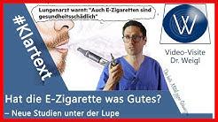#Klartext! Ungesunde E-Zigarette oder Panikmacherei? Was Raucher und Nicht-Dampfer wissen sollten