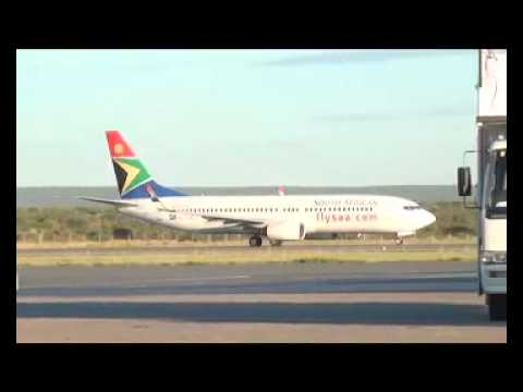 Air Namibia Airbus forced to land in Botswana as Hosea Kutako Int. Airport gets downgraded
