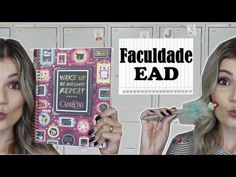 Faculdade EAD - Qual curso vou Fazer -  E porque escolhi estudar à distância