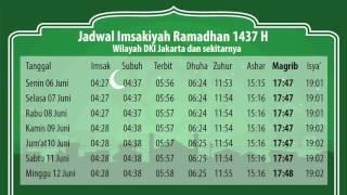 Download Video JADWAL IMSAKIYAH WEEK 1 DKI MP3 3GP MP4