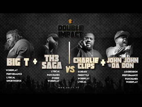 CHARLIE CLIPS + JOHN JOHN DA DON VS BIG T + TH3 SAGA