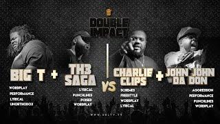 CHARLIE CLIPS + JOHN JOHN DA DON VS BIG T + TH3 SAGA | URLTV