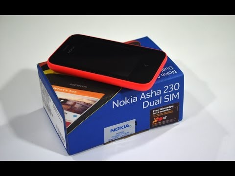 Nokia Asha 230 Dual Sim Unboxing and Hands On Review!