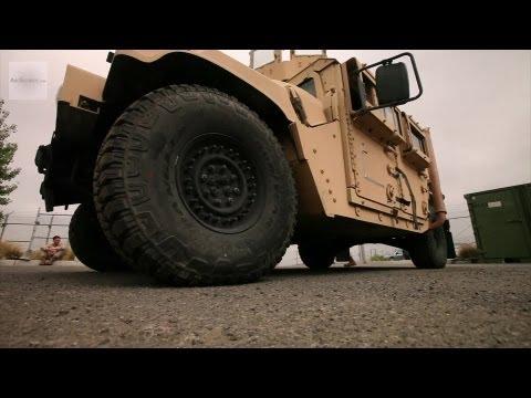 U.S. Marines in Humvee Drivers Course