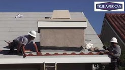 How to Install Metal Birdstop for Tile Roof Beverly Hills Roofing Service