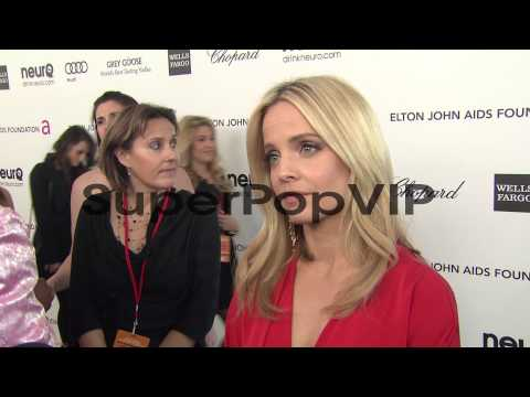 INTERVIEW - Mena Suvari at Elton John AIDS Foundation Pre...
