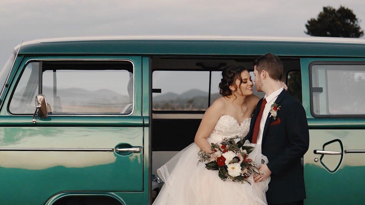 Lyticia + Matthew // Beautiful Golden Hour Wedding Film at Henderson Park