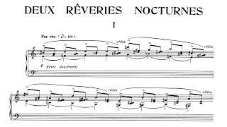 Erik Satie ~1910~ Deux Rêveries Nocturnes