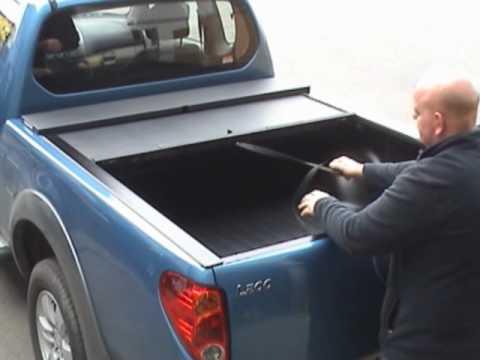 Mitsubishi L200 Extra Cab Roll Amp Lock Pick Up Truck Roll