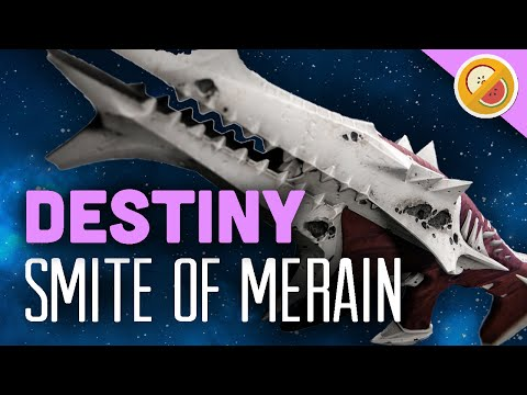 DESTINY Smite of Merain Legendary Pulse Rifle Review (The Taken King)