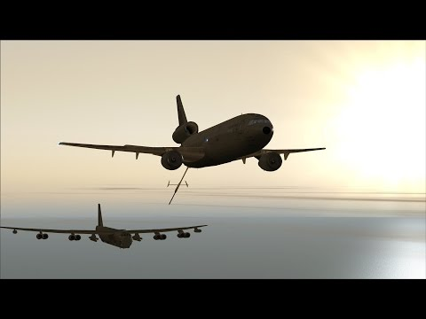 FSX B-52 Barksdale AFB to Diego Garcia NSF [AWESOME REALISM+GRAPHICS]