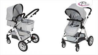 TecTake - 2 en 1 d'enfants combinable poussette canne de voyage bébé