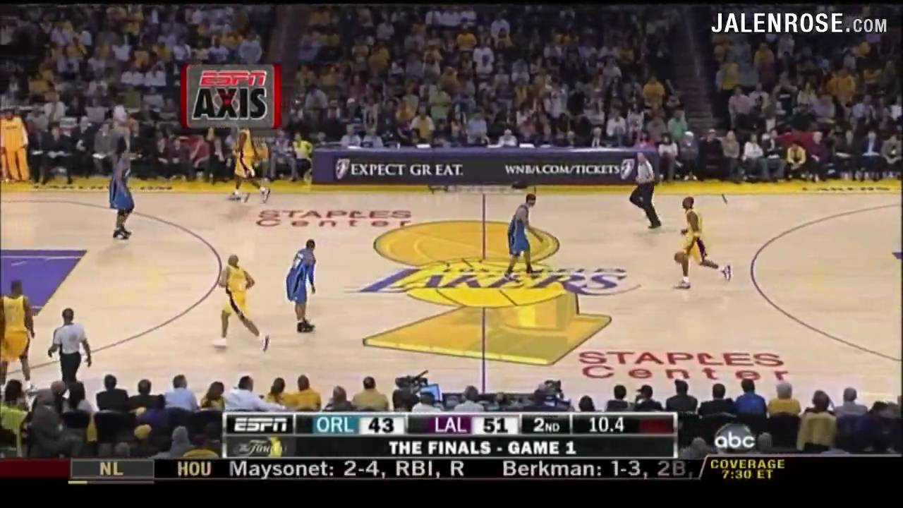 Lakers vs Magic Game 1 Highlights 2009 NBA Finals 6/4/2009 ...