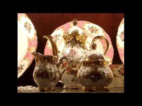 Beautiful Kleiber Demitasse / Coffee / Mocha Set | Fine German China Series