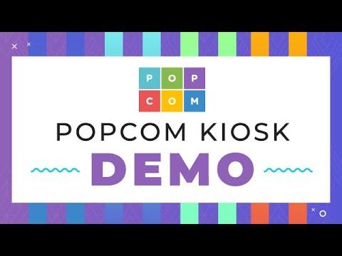 PopCom Kiosk Demo - Ideal for Cannabis, CBD