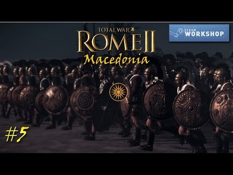 Total War: Rome II - Macedonia #5 ~Retake The Capital!