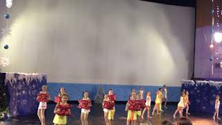 Cheerleading. Чир спорт. Команда City Dance kids.