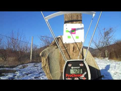 KRAL ARMS PUNCHER BREAKER 50 YARDS ACCURACY TEST by TexasAirGunner