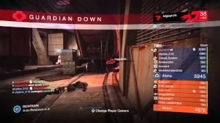 Destiny The Taken King Void Edge Nightstalker PvP Crucible Gameplay [17 Kill Streak]