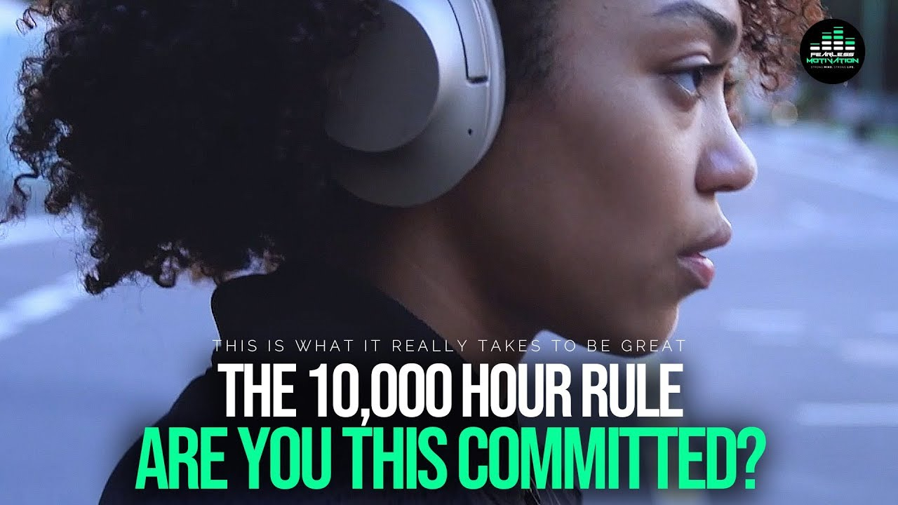 The 10,000 Hour Rule - To Become Truly Great In Any Area You Must Do This!
