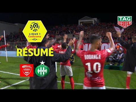 Nîmes Olympique - AS Saint-Etienne ( 1-1 ) - Résumé - (NIMES - ASSE) / 2018-19