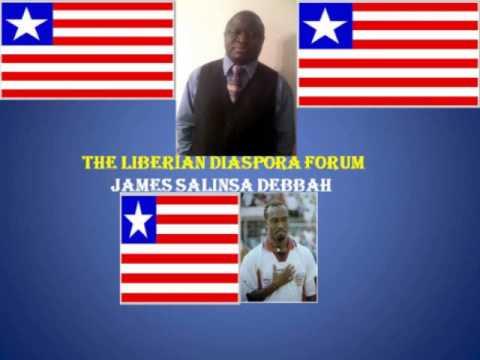 LIBERIAN DIASPORA FORUM(LDF) with JAMES SALINSA DEBBAH
