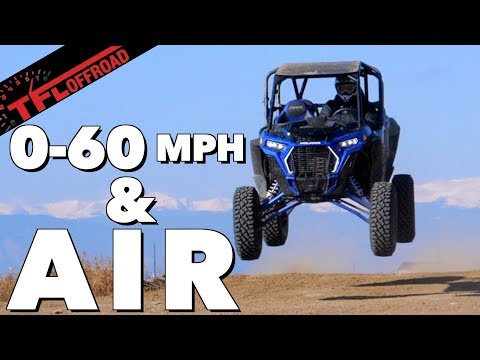 How Fast Is a Polaris RZR Turbo S from 0-60 MPH?