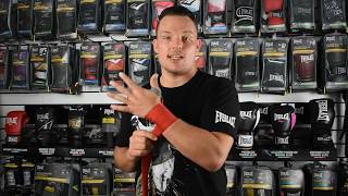 How to Wrap Your Hands for Boxing Everlast