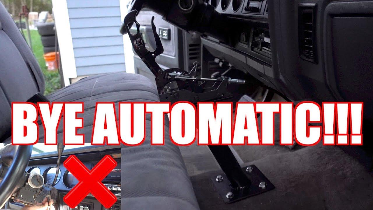 cummins automatic to manual conversion kinda youtube rh youtube com cummins auto to manual conversion kit cummins auto to manual conversion kit