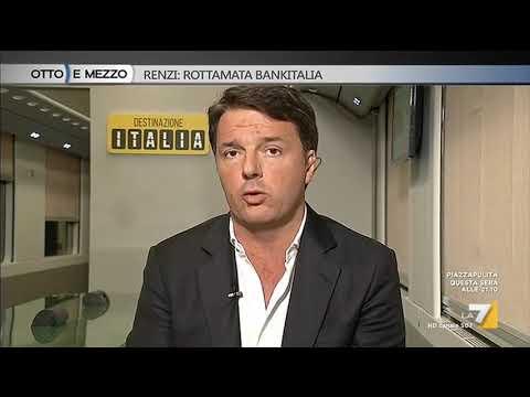 Matteo Renzi: Monti poteva salvare banche ma non lo fece