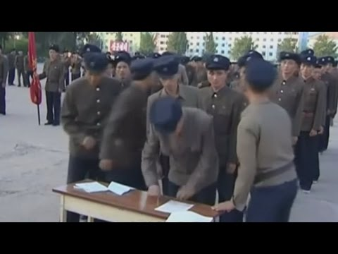 People in North Korea express interest in joining army amid threat of all-out war