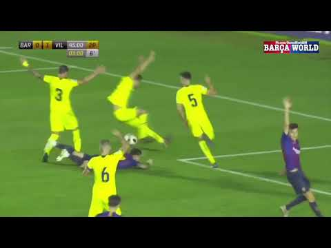 FC Barcelona B 1 - 1 Villarreal B | Full Goals & Highlights